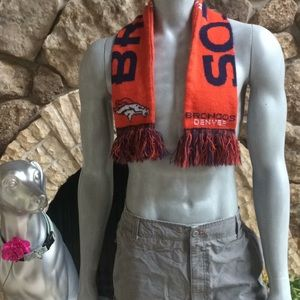 Other - NFL Denver Broncos Fringe Scarf